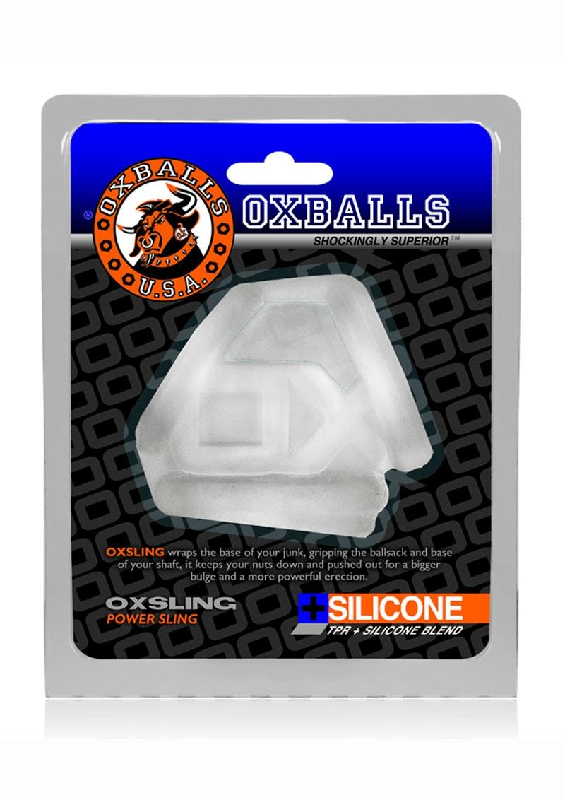 Oxballs Oxsling Silicone Blend Power Sling - Frost