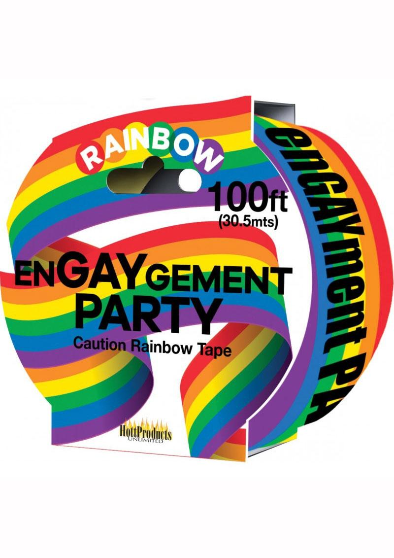 en-GAY-gement Party Tape - Multi Color