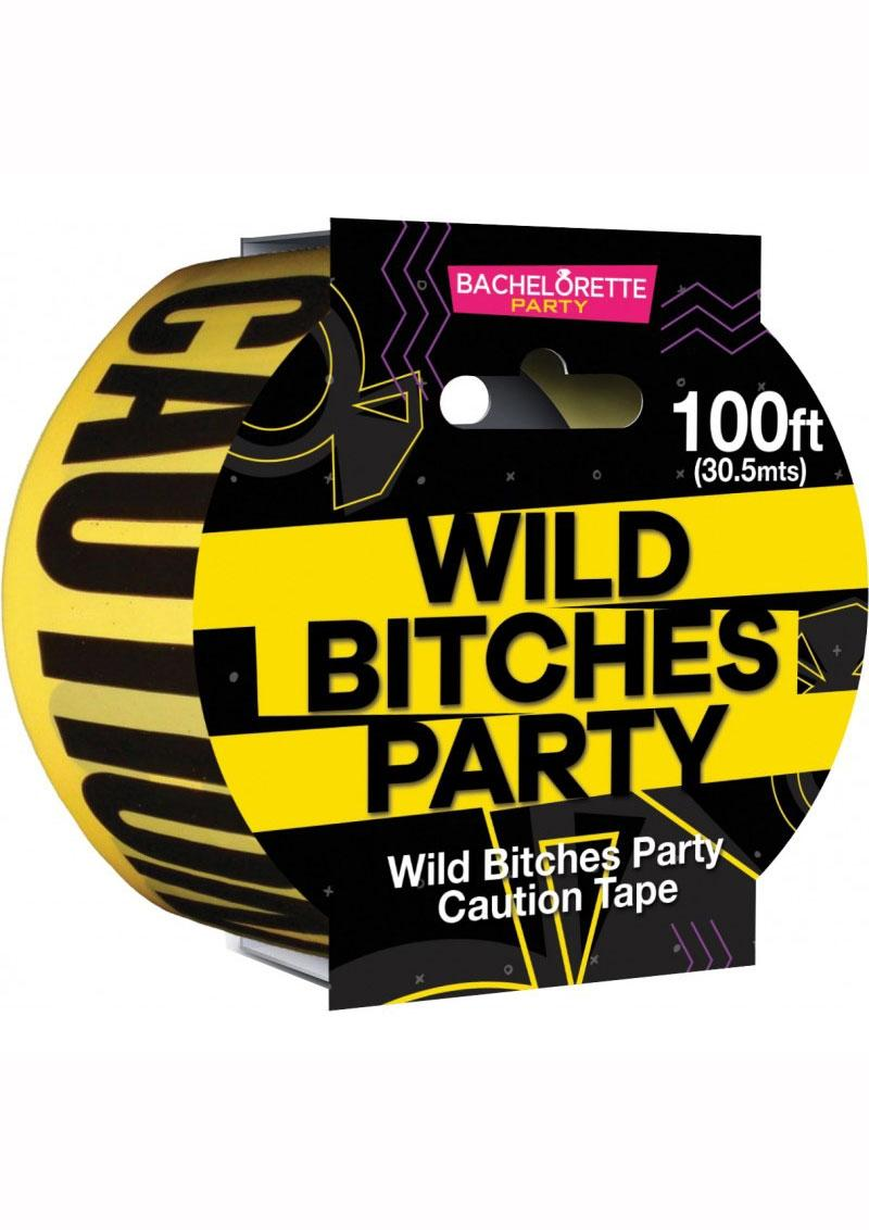 Wild Bitches Party Tape - Yellow/Black