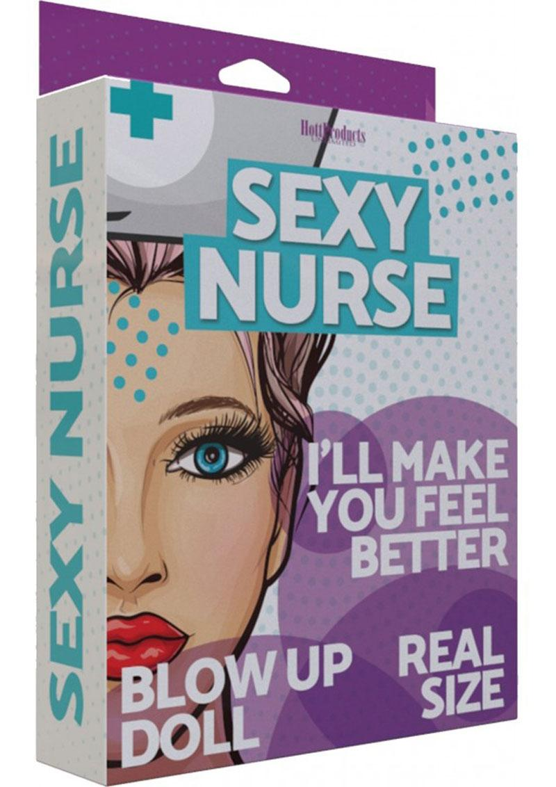 Sexy Nurse Blow Up Doll 5.2 ft - Vanilla