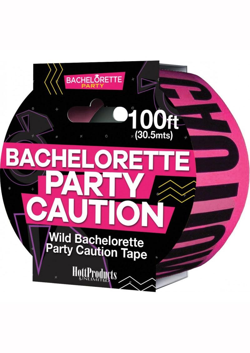 Bachelorette Party Tape - Pink/Black