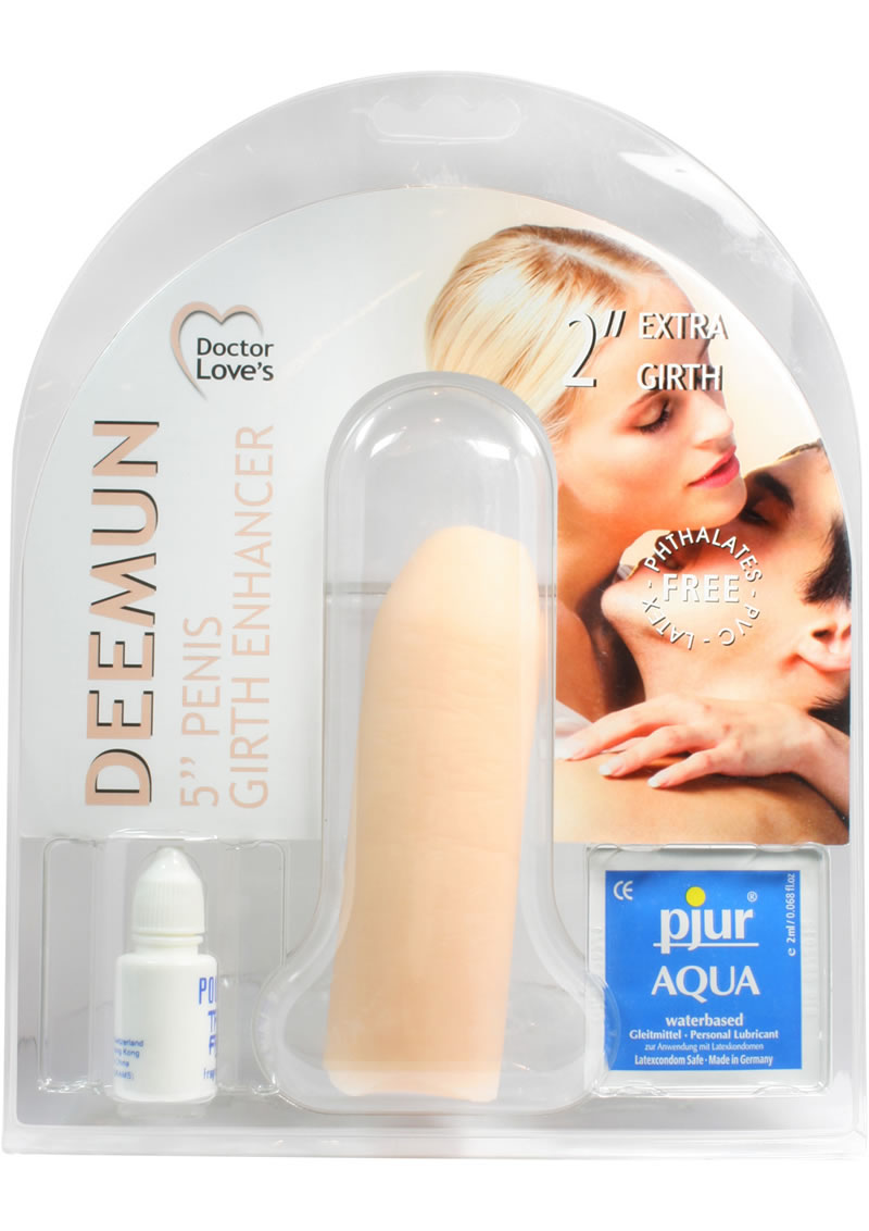 Doctor Loves Deemun Penis Extra Girth Enhancer 2in - Vanilla