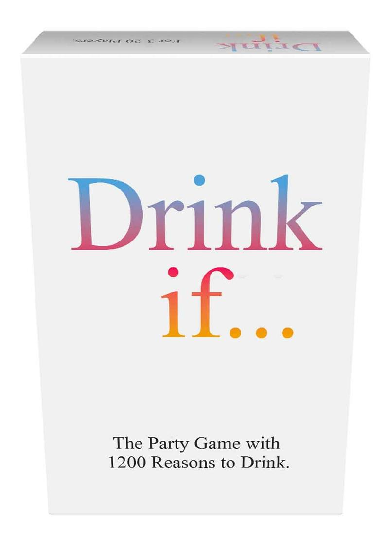 Drink If... Drinking Game