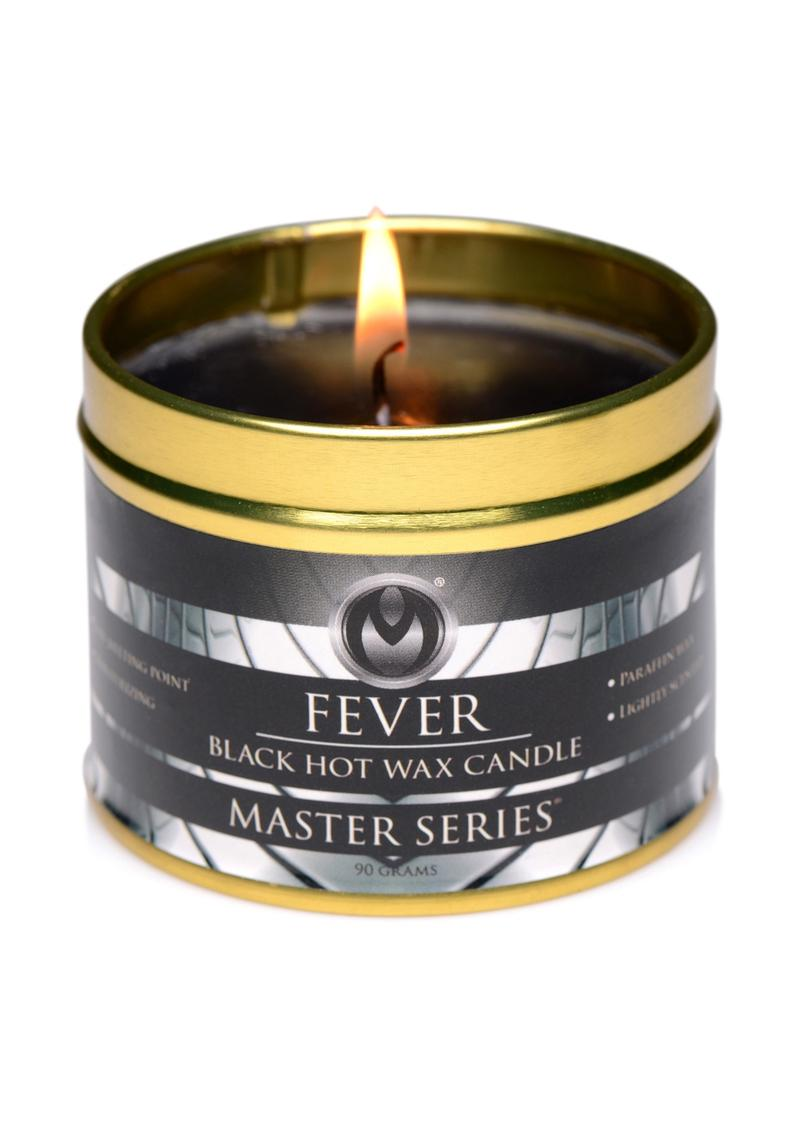Master Series Fever Hot Wax Candle - Black