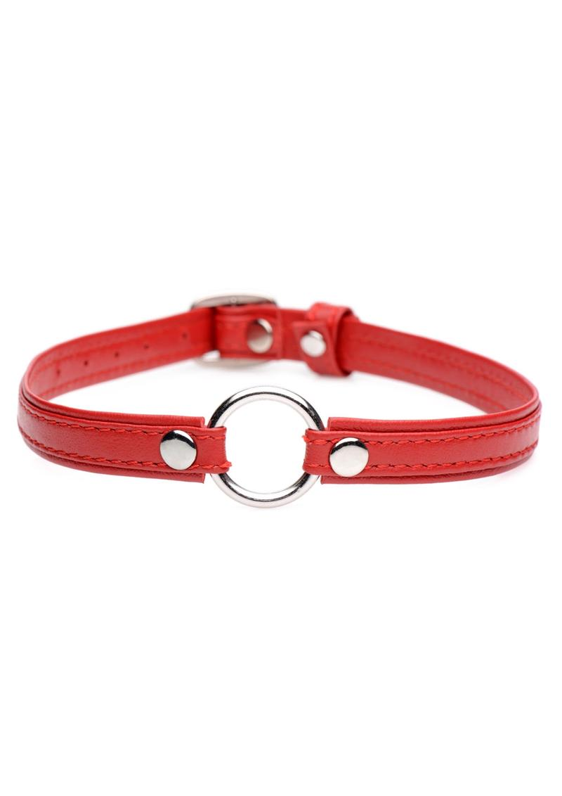 Master Series Slim Collar With O-Ring - Red