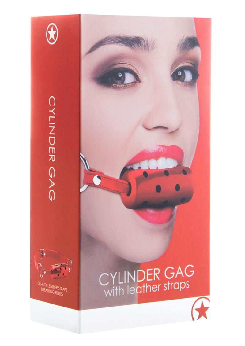 Ouch! Cylinder Gag - Red